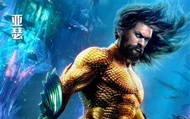 Preview wallpaper Jason Momoa, Arthur, Aquaman 2018