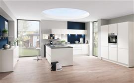 Cozinha, estilo branco
