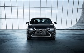 Preview wallpaper Lexus ES 250 black car front view