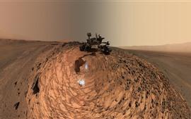 Mars, Curiosity, rocks, NASA