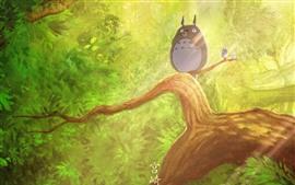 Preview wallpaper My Neighbor Totoro, Hayao Miyazaki, classic anime