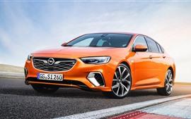 Opel orange car 2018