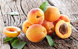 Ripe fruit, apricots