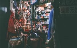 Preview wallpaper Shop, woman