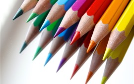 Quelques crayons colorés