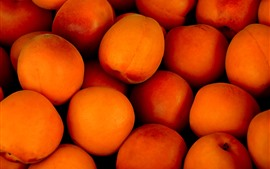 Preview wallpaper Some ripe apricots