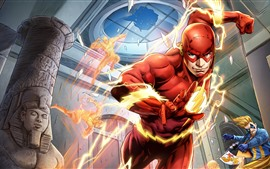 Preview wallpaper The Flash, DC Comics, hero