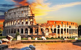 Preview wallpaper Travel to Rome, Colosseum, Italy