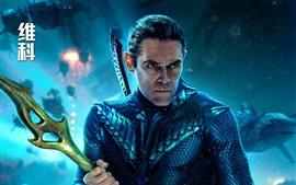 Preview wallpaper Willem Dafoe, Vulko, Aquaman 2018