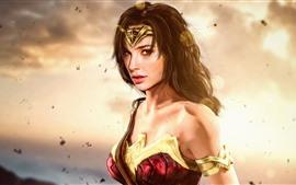 Preview wallpaper Wonder Woman, DC Comics, Diana