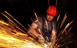 Worker, sparks