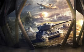 World of Warships, tanks, aircraft, ships