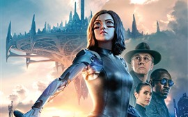Preview wallpaper Alita: Battle Angel 2019
