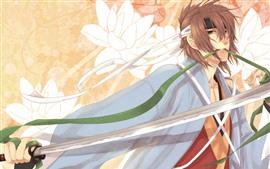 Anime boy espada
