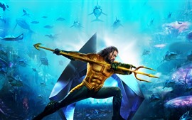 Preview wallpaper Aquaman, Marvel movie