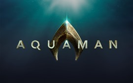 Preview wallpaper Aquaman, movie logo