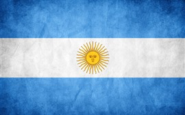 Preview wallpaper Argentina flag