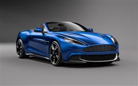 Aperçu fond d'écran Aston Martin Vanquish S voiture bleue