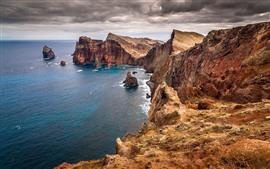 Australia, rocas, mar, costa