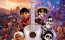 Preview wallpaper Coco, Disney cartoon movie