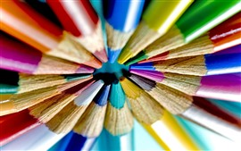 Preview wallpaper Colorful crayons, pencils