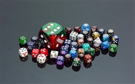 Preview wallpaper Colorful cubes, dice