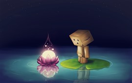 Preview wallpaper Danboard, pink lotus flower
