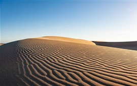Preview wallpaper Desert, arid, sand