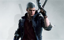 Aperçu fond d'écran Devil May Cry 5, pistolet