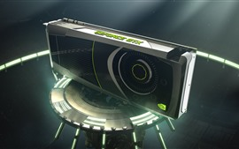 Preview wallpaper Geforce GTX graphics card