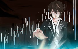 Preview wallpaper Guilty Crown, anime boy