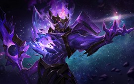 Jarvan, League of Legends, purple, LoL