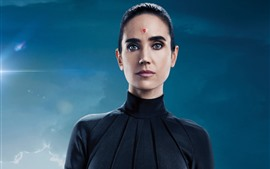 Preview wallpaper Jennifer Connelly, Chiren, Alita: Battle Angel