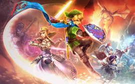Preview wallpaper Legend of Zelda, PC game