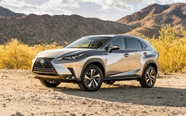 Preview wallpaper Lexus NX 300h silver SUV car