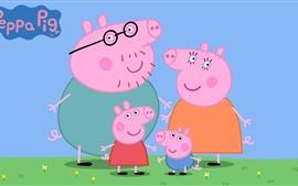 预览壁纸 小猪佩奇,经典动漫