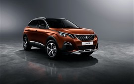 Preview wallpaper Peugeot 3008 SUV car