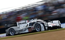Preview wallpaper Porsche 919 supercar speed