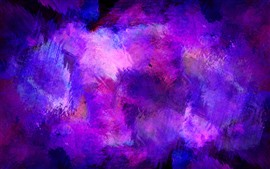 Preview wallpaper Purple paint, abstract
