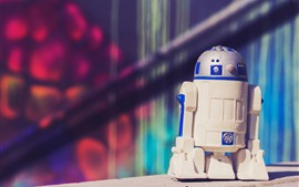 Preview wallpaper R2-D2 robot toy