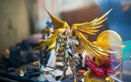 Preview wallpaper Saint Seiya, Hyoga, wings, toy