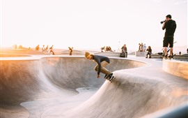 Preview wallpaper Skateboard sport