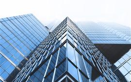 Preview wallpaper Skyscrapers, glass windows