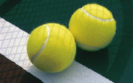 Preview wallpaper Two tennis balls