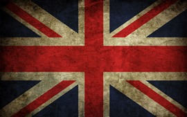 Preview wallpaper UK flag, texture