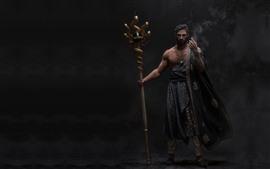 Арабский волшебник, фантазийная картинка