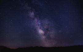 Aperçu fond d'écran Belle étoile, ciel, nuit