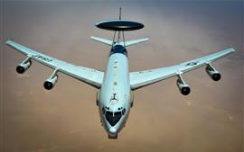 壁紙のプレビュー ボーイングE-3セントリー、AWACS航空機、USAF