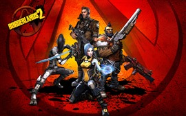 Preview wallpaper Borderlands 2, video game