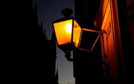 Brasil, candeeiro de rua, noite
